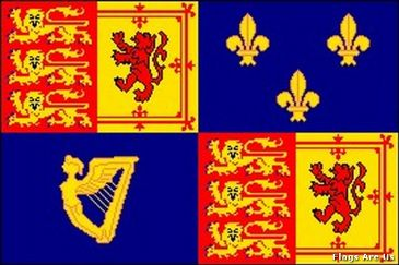 Queen Anne Royal Banner 1707 - 1714